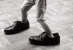 zapatos grandes